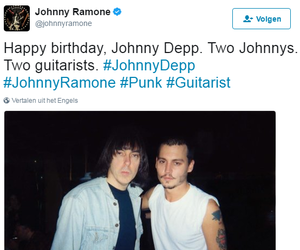 johnny depp, johnny ramone, and ramones image