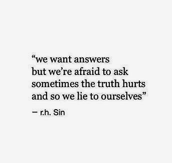 sometimes the truth hurts.. uploaded by n u r i j a ♡