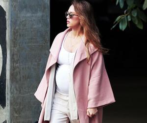 baby bump, jessica alba, and pregnant image