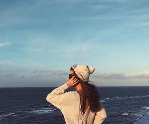 beautiful, blue, and ocean image