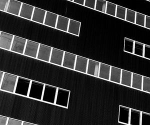 architecture, black, and facade image