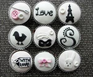 cupcake, paris, and food image