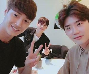lee jong suk and eunwoo image