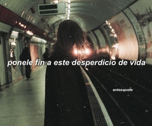 aesthetic, cry, and frases image
