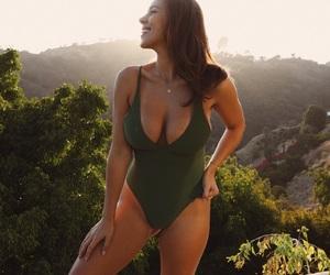 bikini, model, and summer image