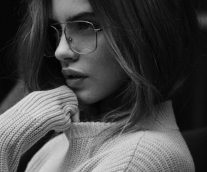 black and white, fashion, and books image
