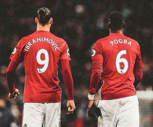 football, sports, and manchester united image