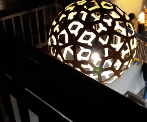 ambiance, escalier, and nuit image