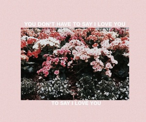 flowers, pink, and quotes image