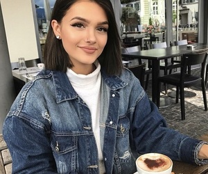 fashion, short hair, and style image