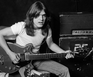 ACDC, malcolm young, and Malcolm image