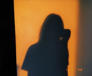 analog, orange, and shadow image