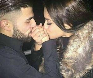 couple, kiss, and lové image