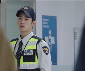 while you were sleeping, jung hae in, and han woo tak image