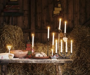 candles, rustic, and country living image