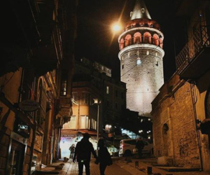 istanbul, couple, and night image