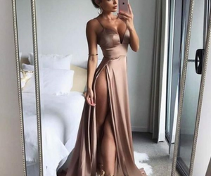 body, long dress, and classy image