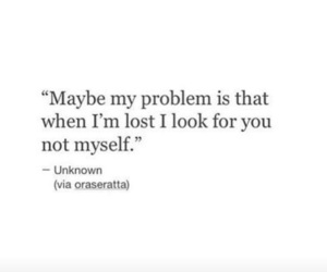 quotes, lost, and poem image