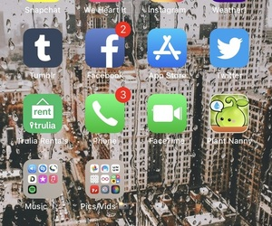 iphone, main, and apps image