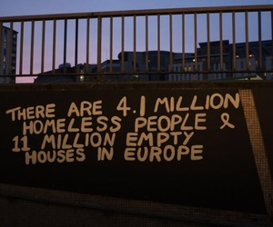 quotes, homeless, and europe image