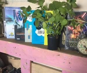 books, libros, and plantas image