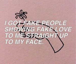 fff, fake people, and fake friends image