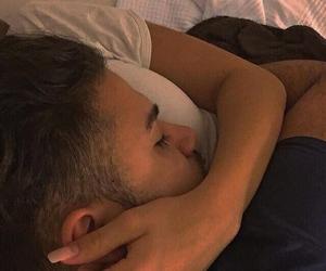 boyfriend, sleeping, and love image