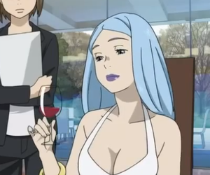 anime girl, blue hair, and eden of the east image