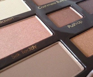 eye shadow, Nude, and too faced image