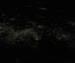 night, city, and citylight image