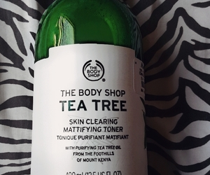 skin care, toner, and the body shop image