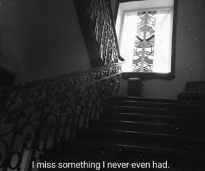 black and white, broken, and lonely image