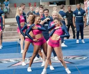 blonde, Cheerleaders, and dance image