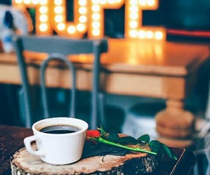 autumn, coffee, and signs image