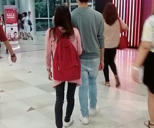 casual, couple, and kfashion image