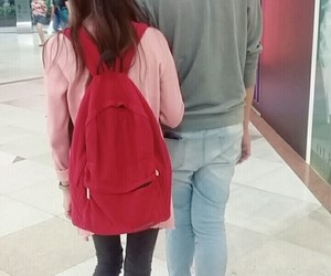 asian, casual, and couple image