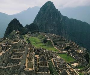 landscape, machu picchu, and perú image