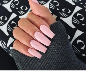 acrylics, manicure, and nails image