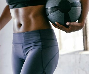 abs, ball, and strong image