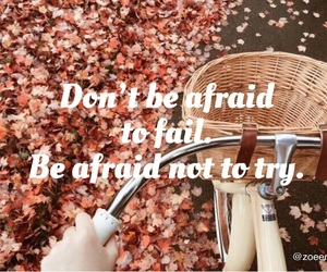 afraid, believe, and quote image
