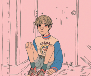 aesthetic, cute, and art image