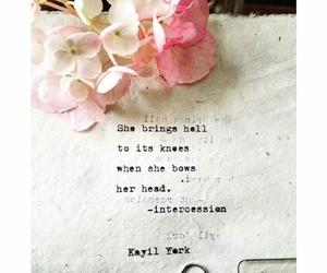 beautiful, fierce, and flowers image