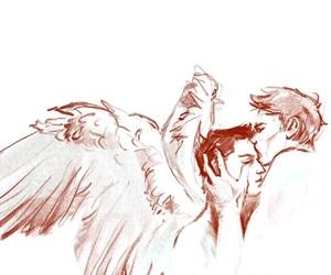 supernatural, destiel, and dean image