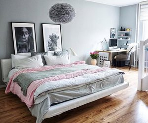 home, bedroom, and Chambre image