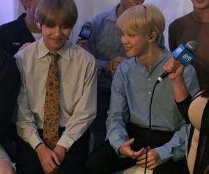 bts, taehyung, and vmin image