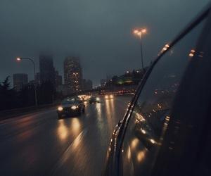 light, night, and car image