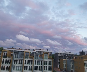 amsterdam, clouds, and view image