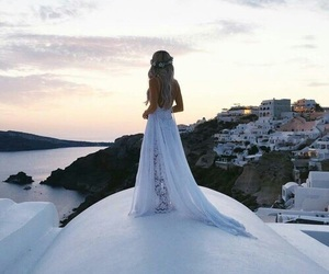 fashion, dress, and travel image