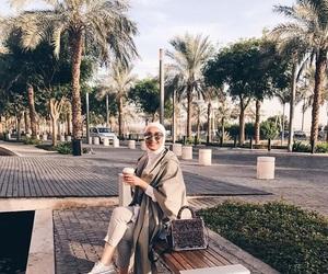 Dubai, hijab, and travel image