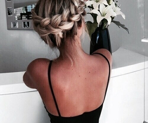 blonde, classy, and hair image